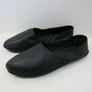 BCBGeneration Leather Hand Stitched Ballet Flats